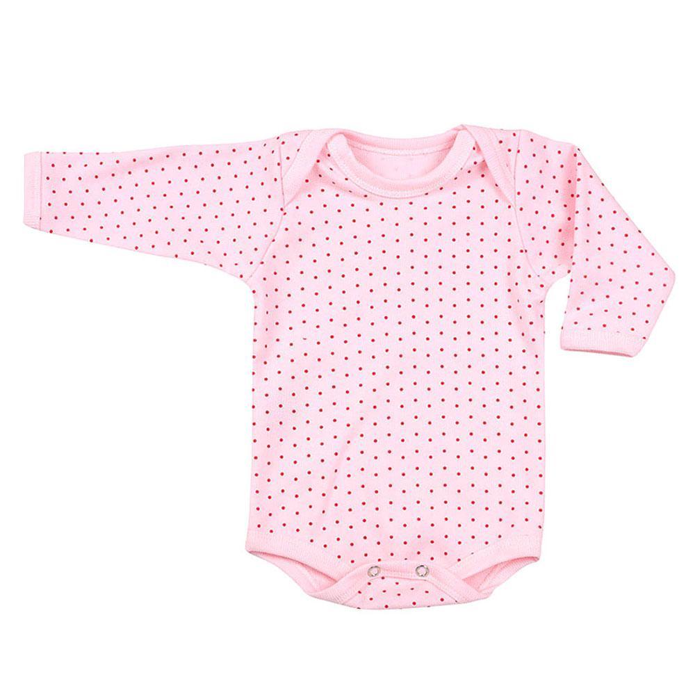 9cef700e0 Body Canelado Poá Manga Longa (PREMATURO)    Bebê Fofuxo
