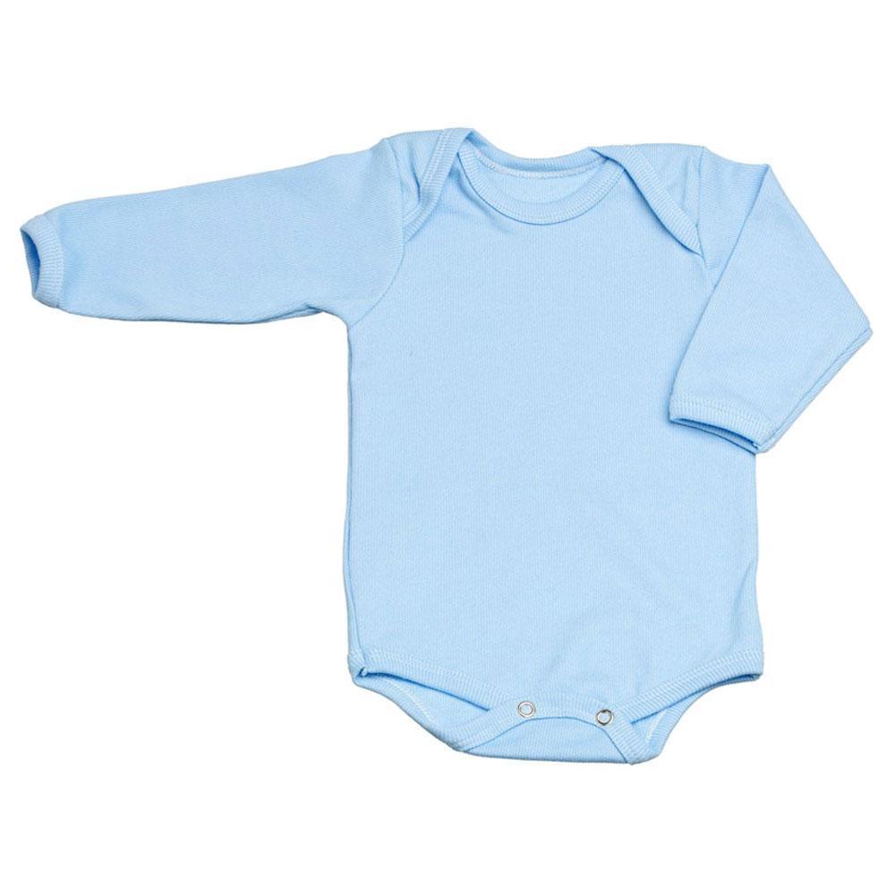 789ec3bed Body Canelado Liso Manga Longa (PREMATURO)    Bebê Fofuxo