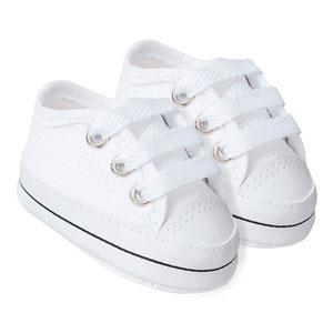Tênis Bebê Star Branco (P/M/G/GG) - Baby Soffete - Tamanho G - Branco