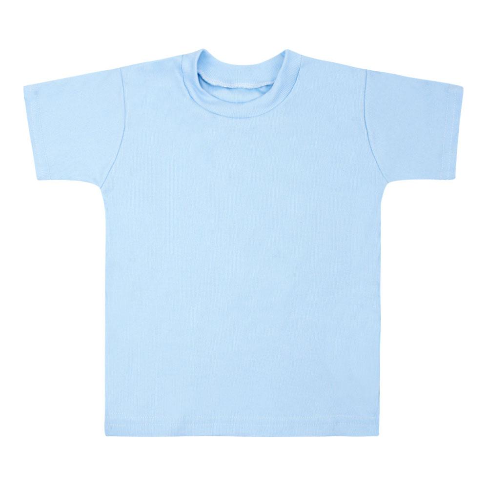5f401e167 Camiseta Canelada Lisa Manga Curta (P M G)    Bebê Fofuxo
