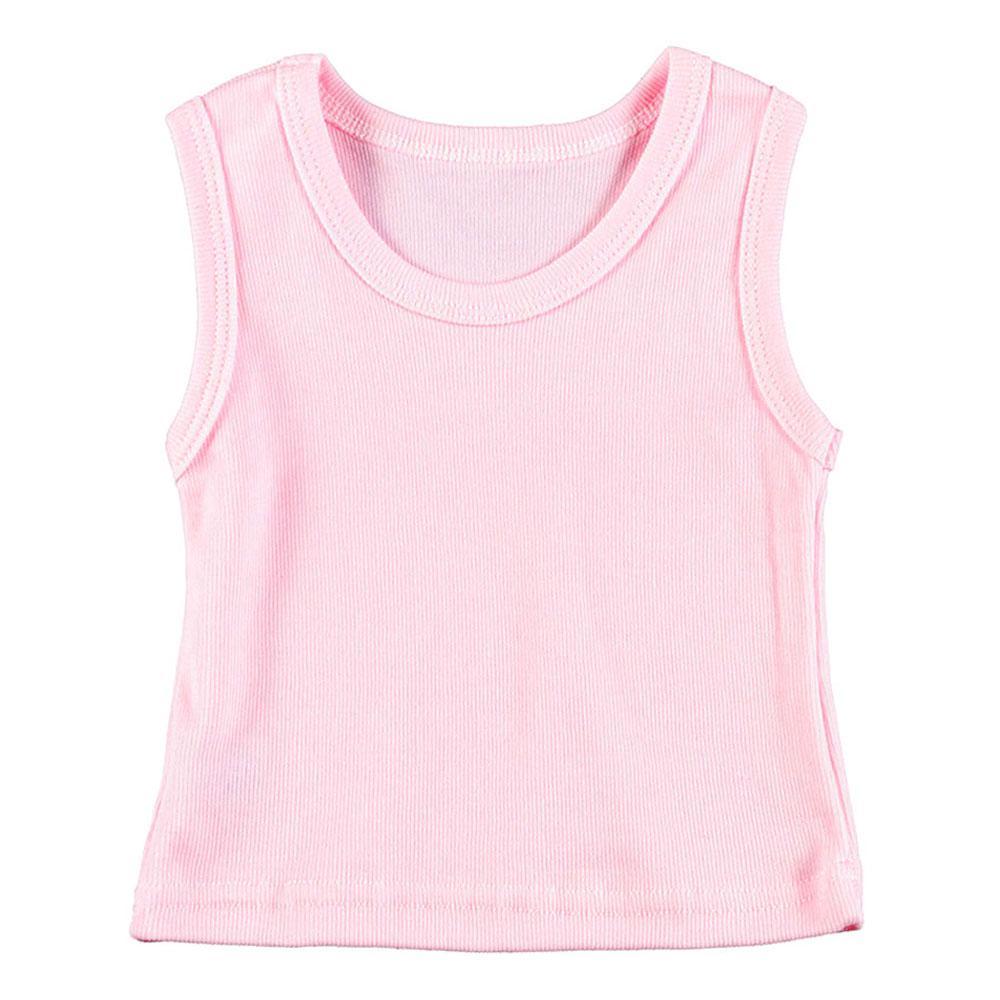 69cf147b5154c Camiseta Canelada Lisa Regata (P M G)    Bebê Fofuxo