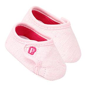 Tênis Bebê Feminino Rosa com Velcro (14 ao 16) - Pimpolho - Tamanho 16 - Rosa